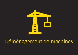 Service déménagement de machines AXIOME